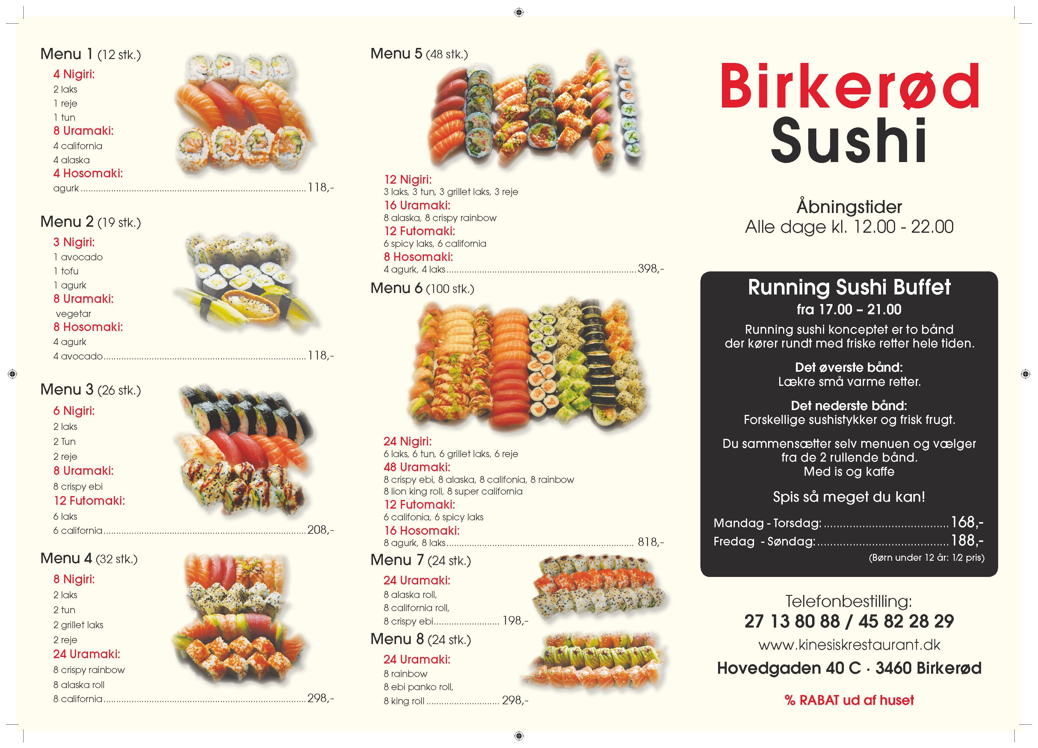 Kinesisk Restaurant og Birkerød Kro - Restauranter, Birkerød - Danmark, (TLF: 45822...)